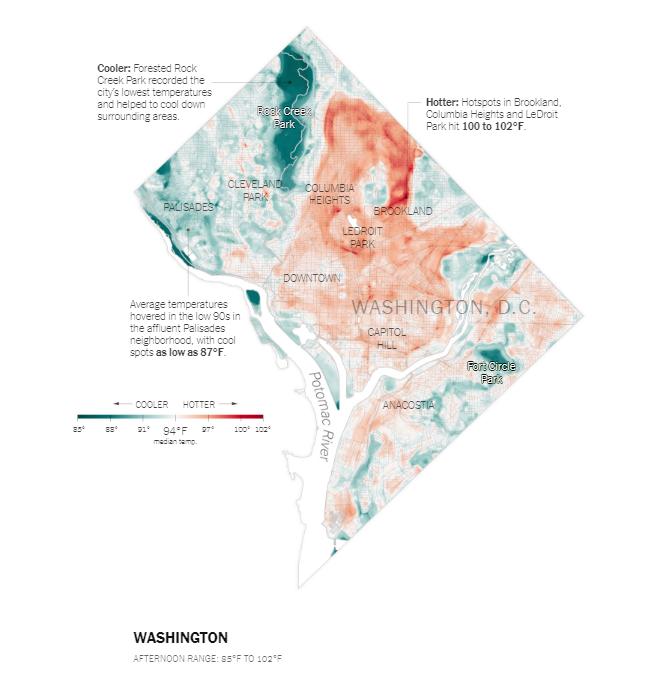 dc heat map
